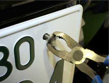 特殊ネジで盗難対策。でも、そのネジで安心ですか?