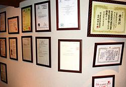 JCCロックは特許取得の優良防犯器具認定品です